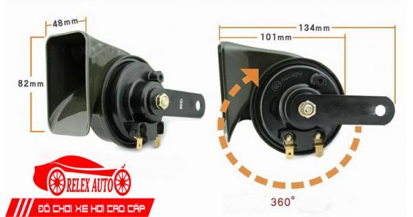 Cấu tạo còi (kèn) xe ô tô, cách sửa còi điện ô tô không kêu