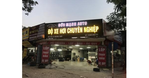Địa chỉ độ lazang xe hơi uy tín tại hà nội - Đức Mạnh Auto 56 Lê Quang đạo,Mỹ Đình.