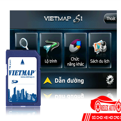 Thẻ Nhớ Vietmap S1 Định Vị GPS