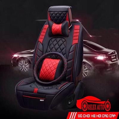 Áo Ghế Ô tô 3D Cao Cấp Relex01