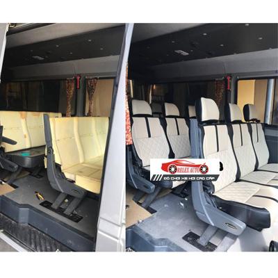 Bọc ghế da cho xe Mercedes Sprinter 2012