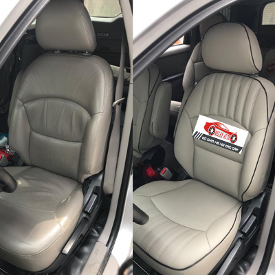 Bọc ghế da cho xe Mitsubishi Grandis 2009