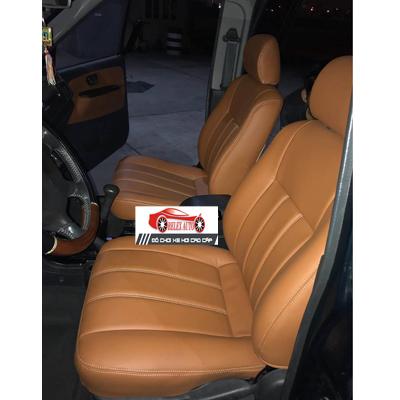 Bọc ghế da cho xe Mitsubishi Jolie 2003