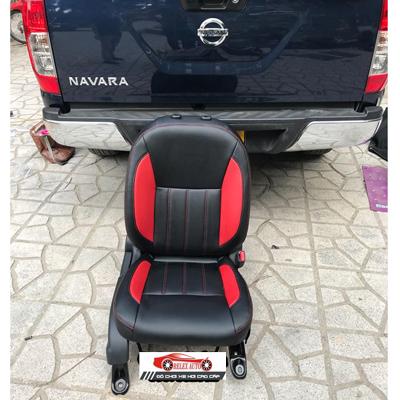 Bọc ghế nha cho xe Nissan Navara 2017