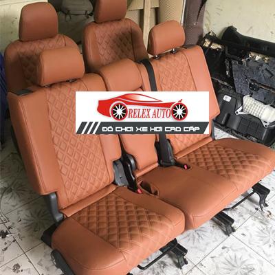 Bọc ghế da cho xe TOYOTA PRADO 2010