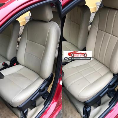 Bọc ghế da cho xe Yaris E 2015