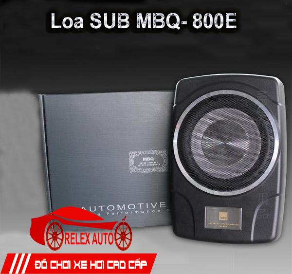 Loa Sub gầm ghế MBQ, siêu trầm 800E