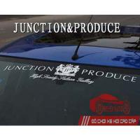 Tem dán Decal chữ Junctione Produce
