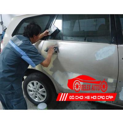 Bảng giá dịch vụ sơn xe ô tô từ 4 chỗ đến 7 chỗ gi...