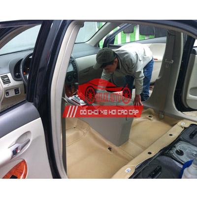 Dọn nội thất xe Altis chuyên nghiệp tại Hà Nội