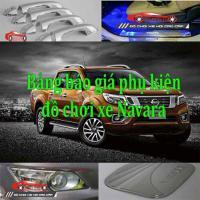 Bảng báo giá phụ kiện, đồ chơi xe Nissan Navara 20...