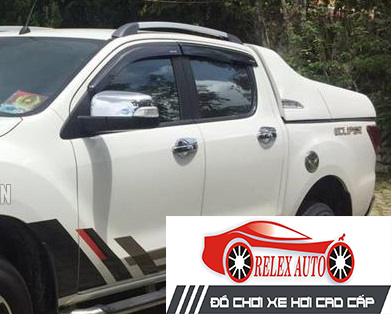 Nẹp cong kính theo xe Mazda BT50