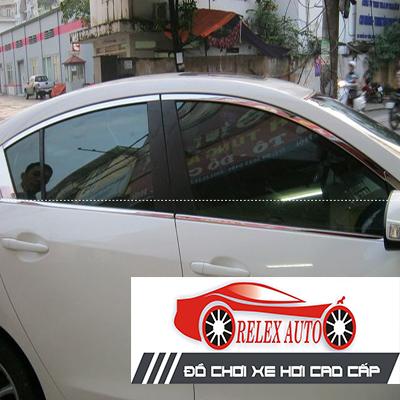 Nẹp cong kính theo xe Mazda3