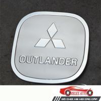 Ốp trang trí nắp bình xăng nhựa mạ Outlander