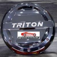 Ốp trang trí nắp bình xăng nhựa mạ Triton