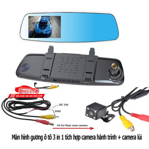 Camera Relex A10 tích hợp gương,Camera hành trình, Camera lùi