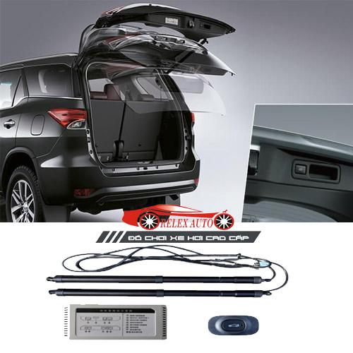 Độ cốp điện tự động Toyota Fortuner