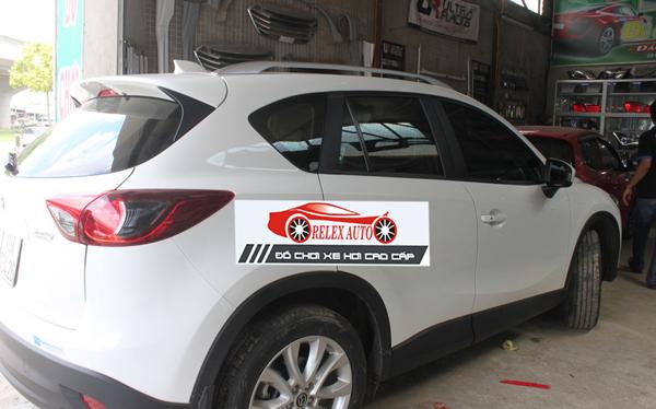 Giá nóctheo xe dán loại đẹp Mazda CX5