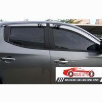 Vè mưa đen bạc Toyota Vios