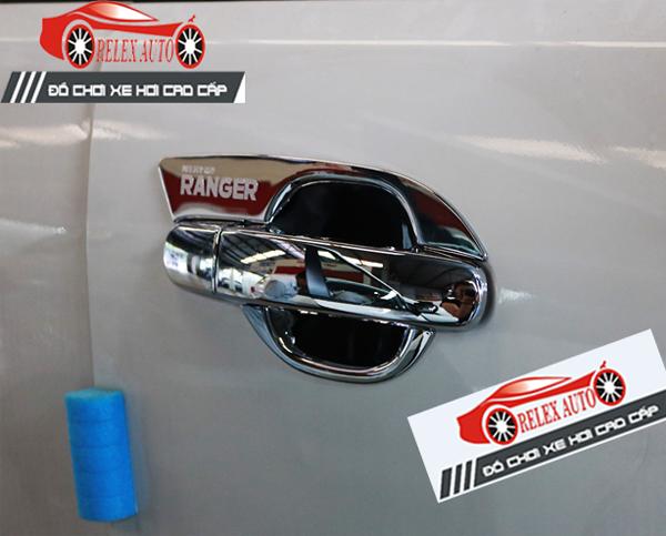 Hõm cửa mạ theo xe TL Ranger cao cấp