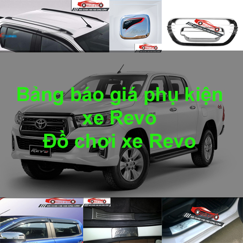 Báo giá phụ kiện, Đồ chơi Xe Toyota Revo  2015, 20...