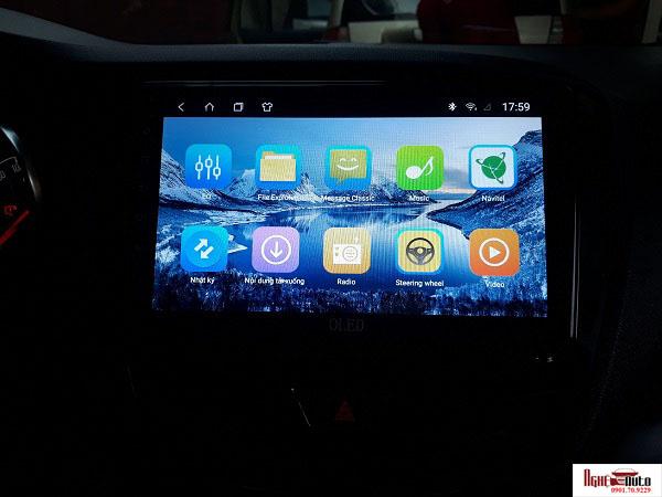 Màn hình DVD Android OLED dùng cho xe Vinfast Fadi...