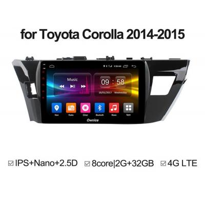 DVD Android ZESTECH Corolla 2014-2015