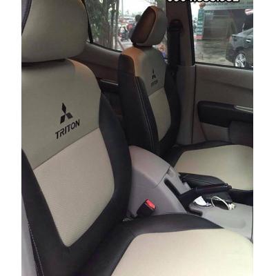 Bọc ghế da ô tô Mitsubishi Triton