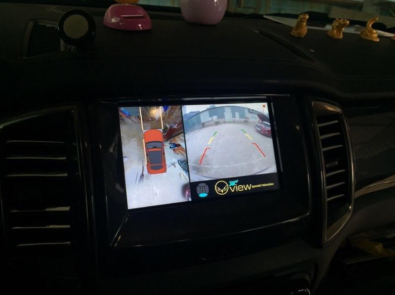 Camera 360 độ ô tô cho xe Ford Everest