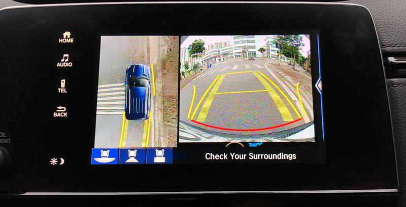 Camera 360 độ ô tô cho xe Honda Crv