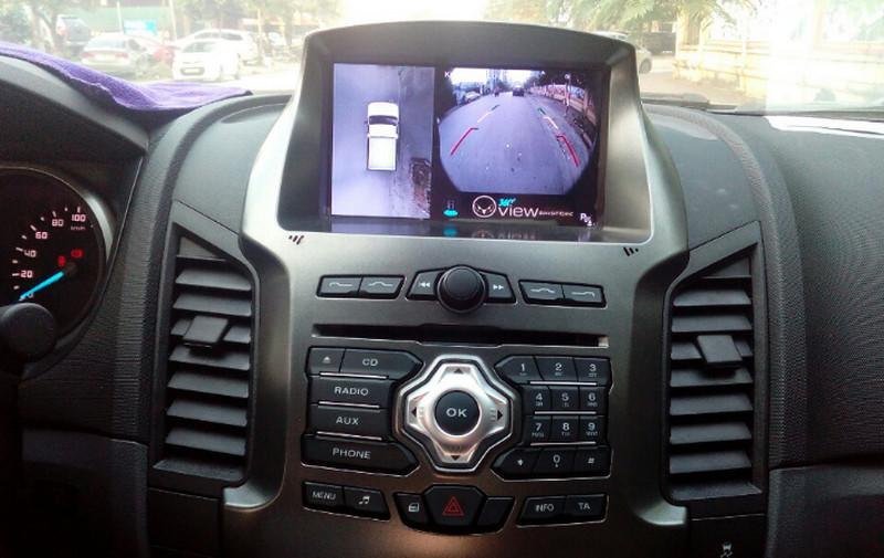 Camera 360 ô tô cho xe Ford Ranger