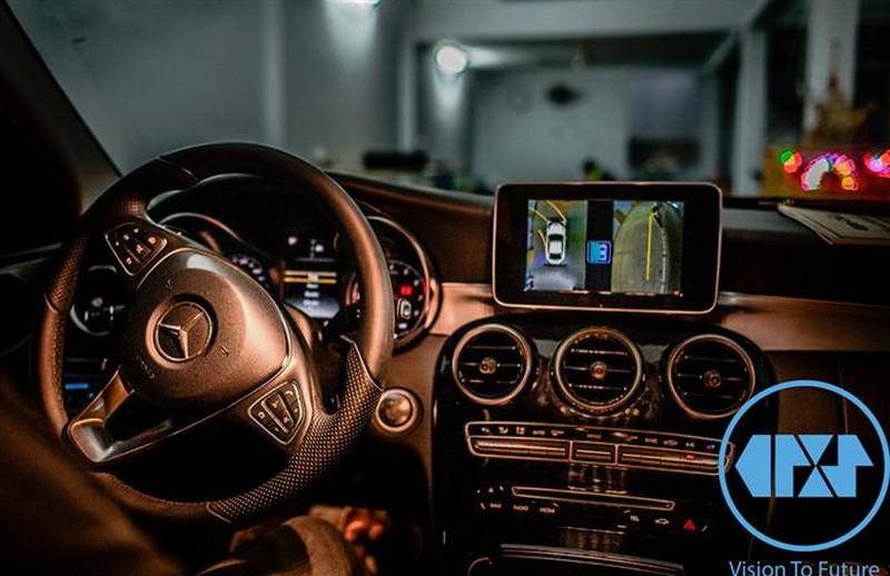 Camera 360 Oris cho xe Mercedes C250