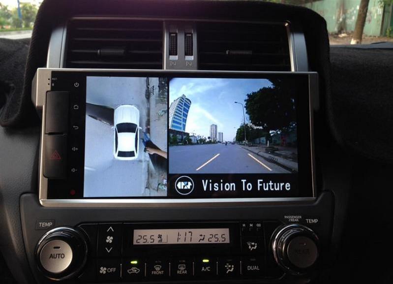 Camera 360 Oris cho xe Toyota Prado