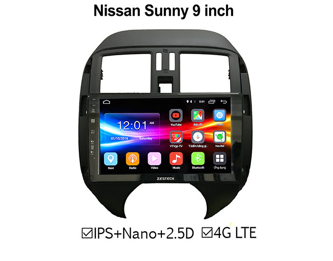 DVD Android ZESTECH Nissan Sunny